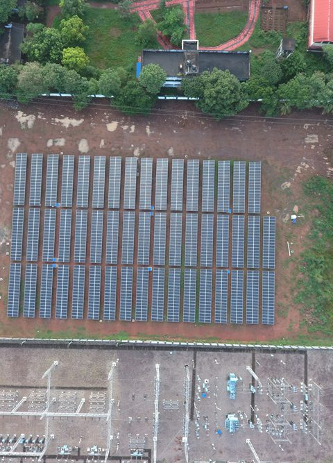 650 KWp IPDS-KSEB Project